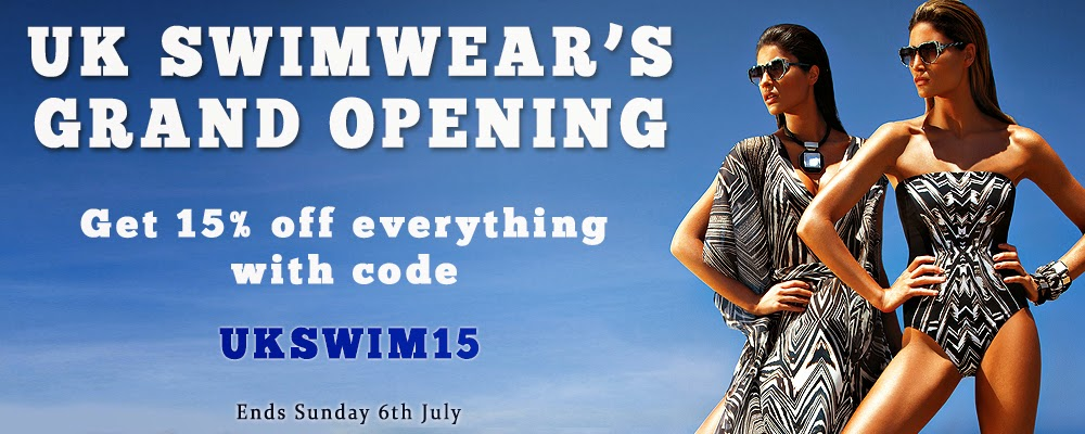 UK Swimwear Opening offer banner