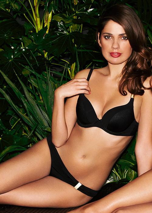 Gossard Sienna Plunge Bikini - Black