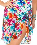 Miraclesuit Floral Tie Side Sarong
