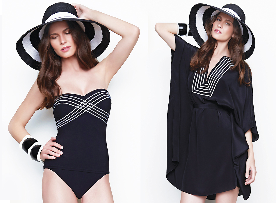 Gottex Lady Like Luxe with Gottex Sun Hat Breton