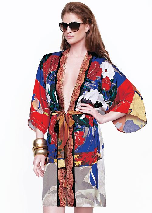 Gottex Mandarin Open Kimono