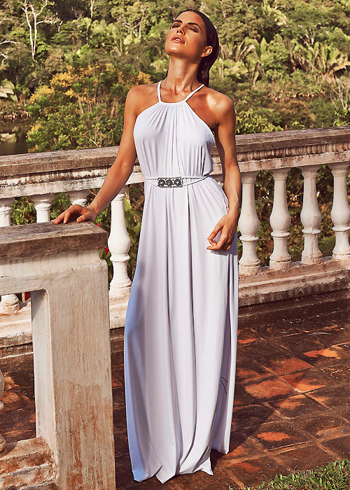 Aguaclara Summer Terrace Maxi Dress - Luxury Beachwear