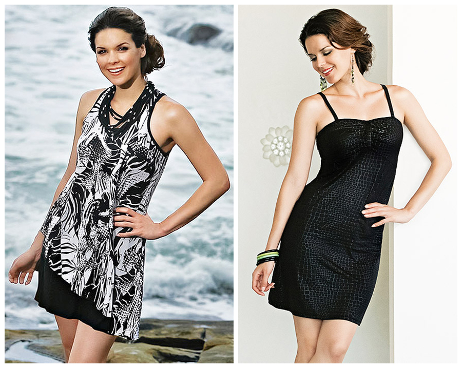 Mastectomy dresses