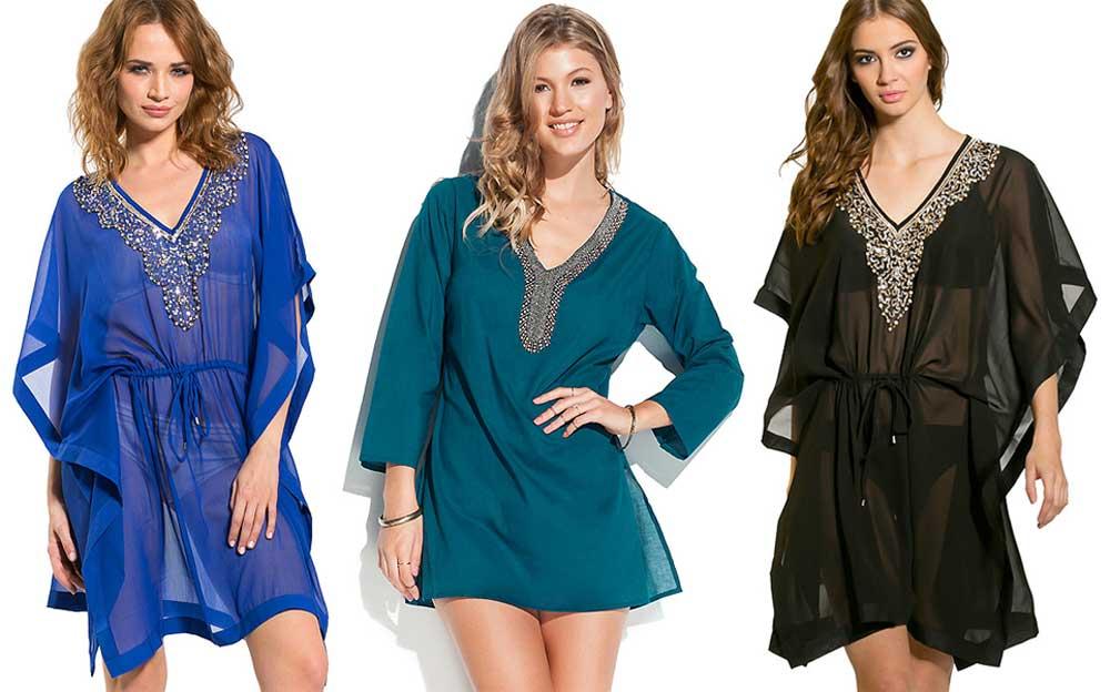 Embellished-kaftans-beachwear-on-budget-uk-swimwear