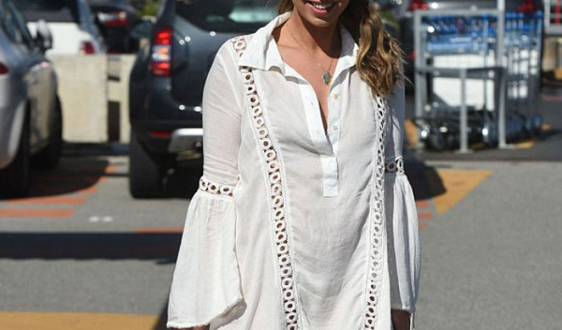 Found it! The Boho Sun Dress Ferne McCann Wore In Cannes