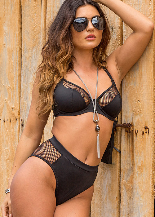 Pour Moi Glamazon High Waist Underwired Bikini