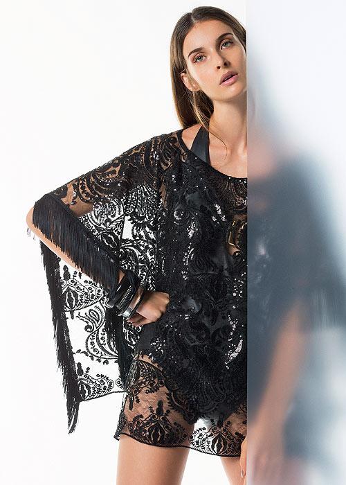 Pierre Mantoux Couture Mali Poncho