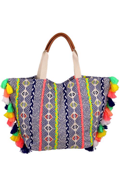 Kiwi Sac Looping Beach Bag