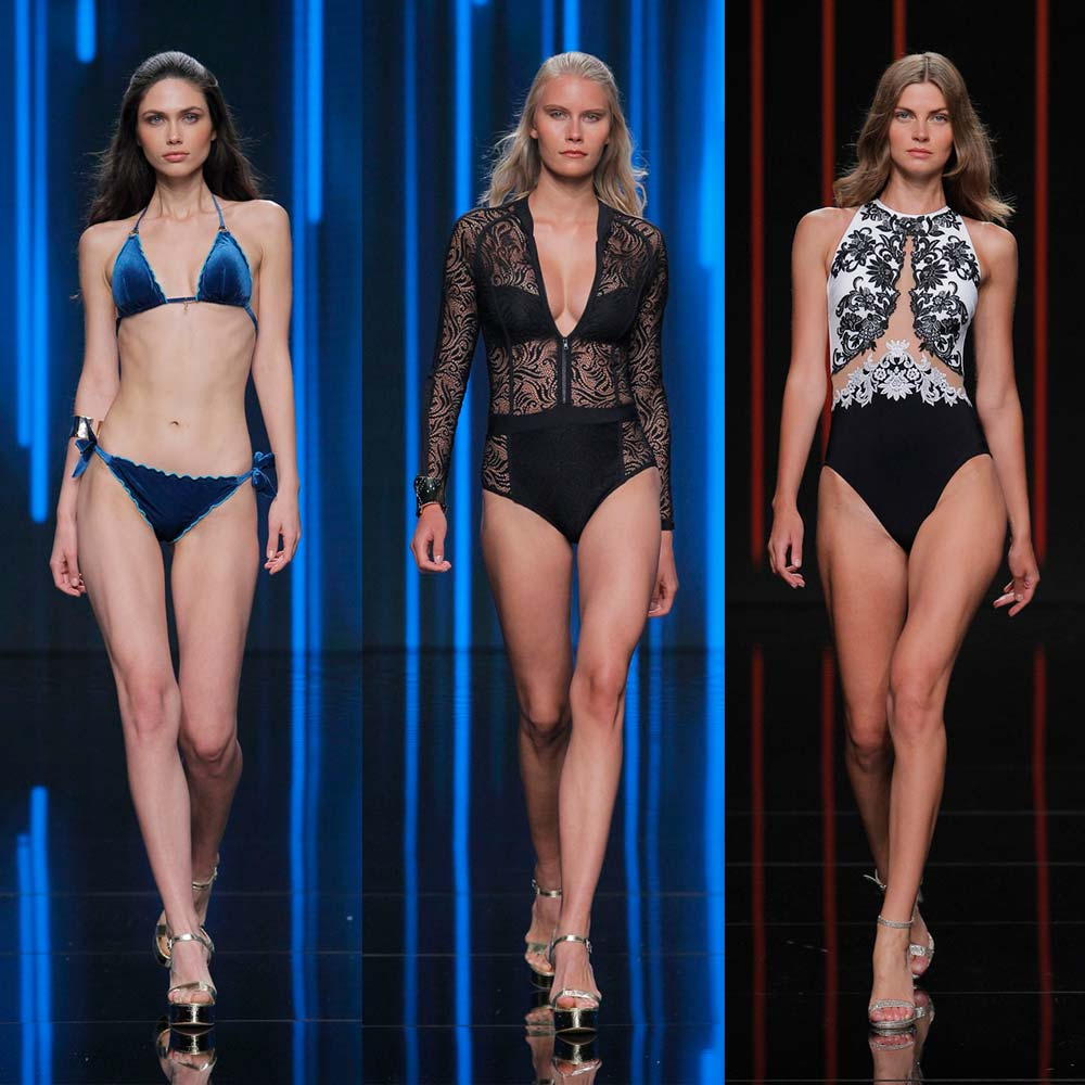 The Flooring Girl 2019 Trends: Moda Calida Swim Show - UK Swimwear