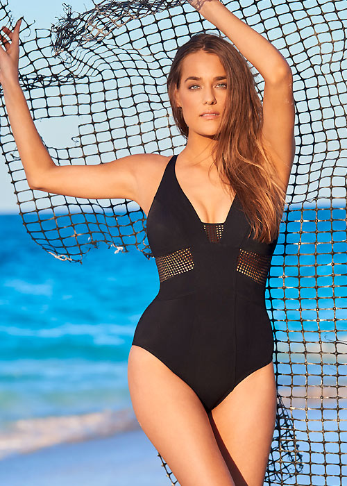 Amoressa Hustle Margaux Tummy Control Swimsuit