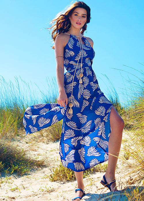 Bacirubati Bunny Maxi Sun Dress