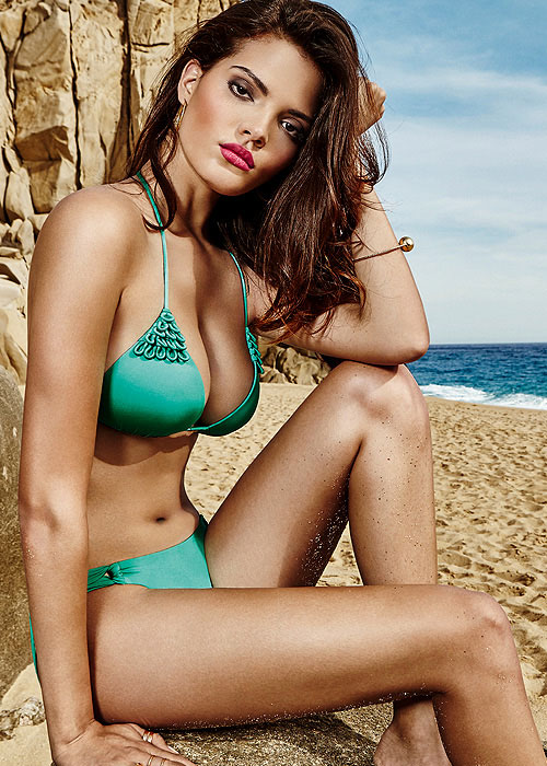Maryan Mehlhorn Caribbean Luxury Green Bikini