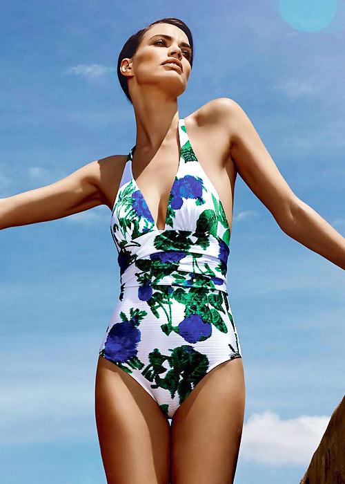 Maryan Mehlhorn floral swimsuit