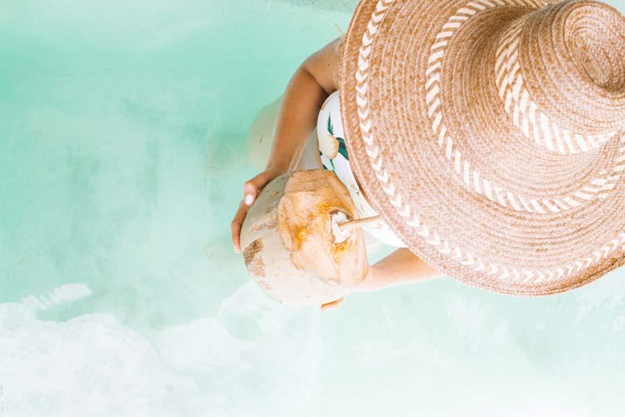 Bali Coconut beach Emily Bauman