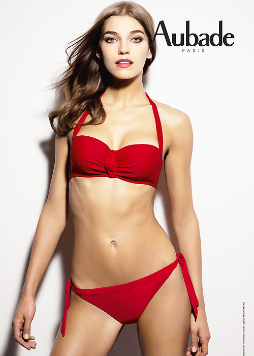 Aubade bikini set in sexy red